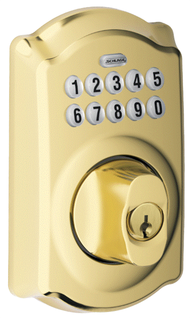 Schlage Pushbutton Deadbolt