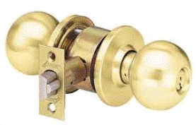arrow brass knob
